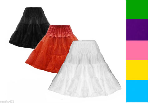 """VINTAGE 50/'S CLASSIC 26 /""""tulle organza Net Mesh Swing Sottoveste Sottogonna Gon na"""
