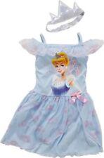 Disney Princess Girls' Blue Cinderella NIGHTDRESS 4-5 years Dress Up Costume New