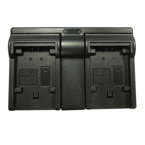 Camera Smart Charger Dual Channel Charging Dock for Sony NP-FV100 Batteries