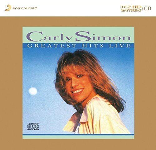 Carly Simon - Greatest Hits Live: K2HD Mastering [New CD] Hong Kong - Import