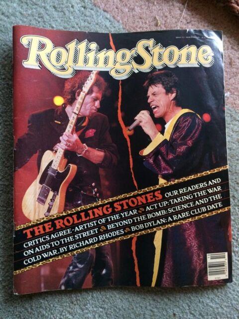 Rolling Stone Magazine #573 March 8, 1990