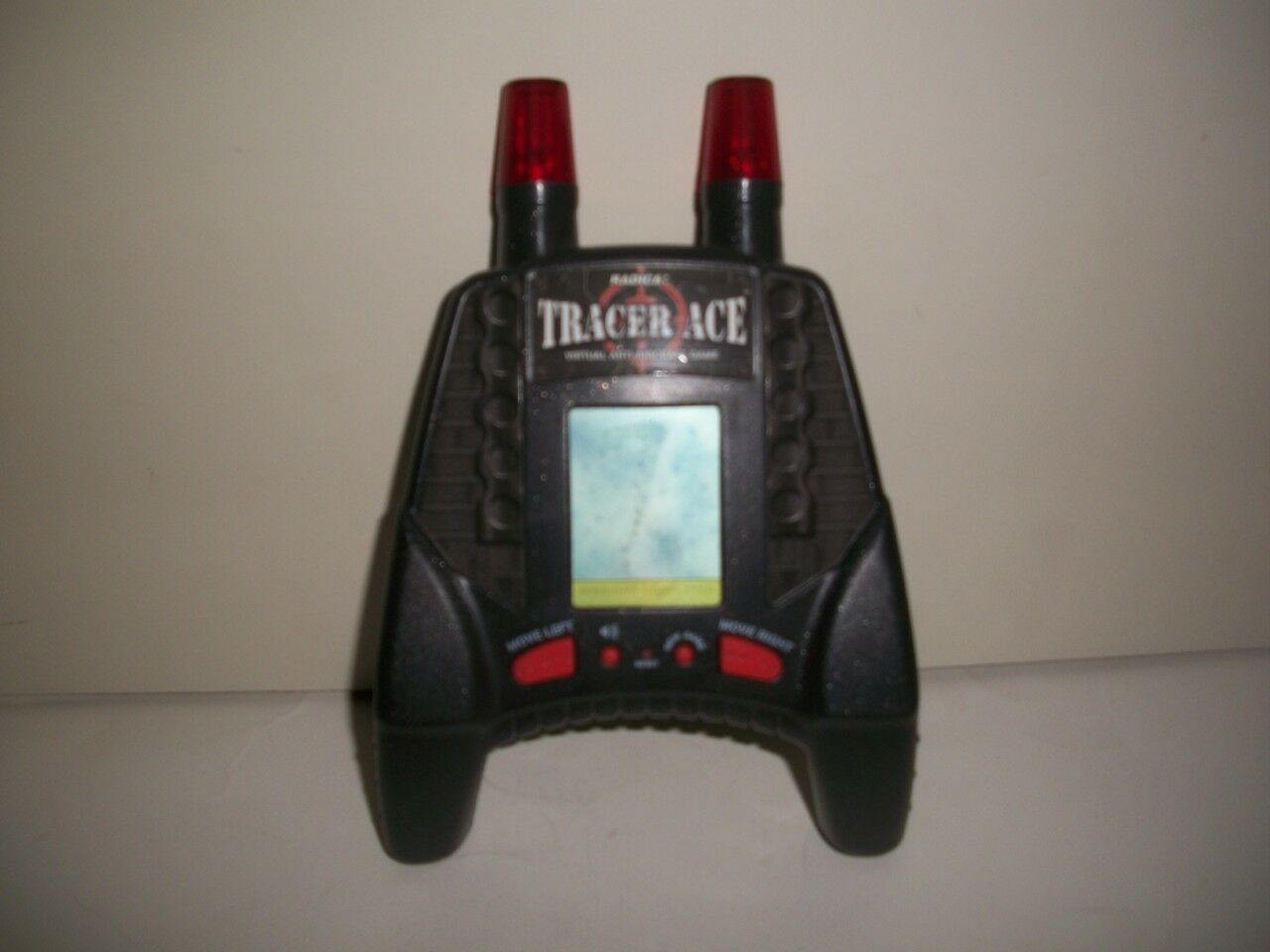 HANDHELD GAME, GAME, GAME, TRACER ACE-RADICA, VIRTUAL ANTI-AIRCRAFT, MOTION SENSOR, 1998 c5f84d