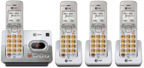 New AT/&T Set DECT 6.0 Cordless Telephone Portable Wireless Home Phone lot