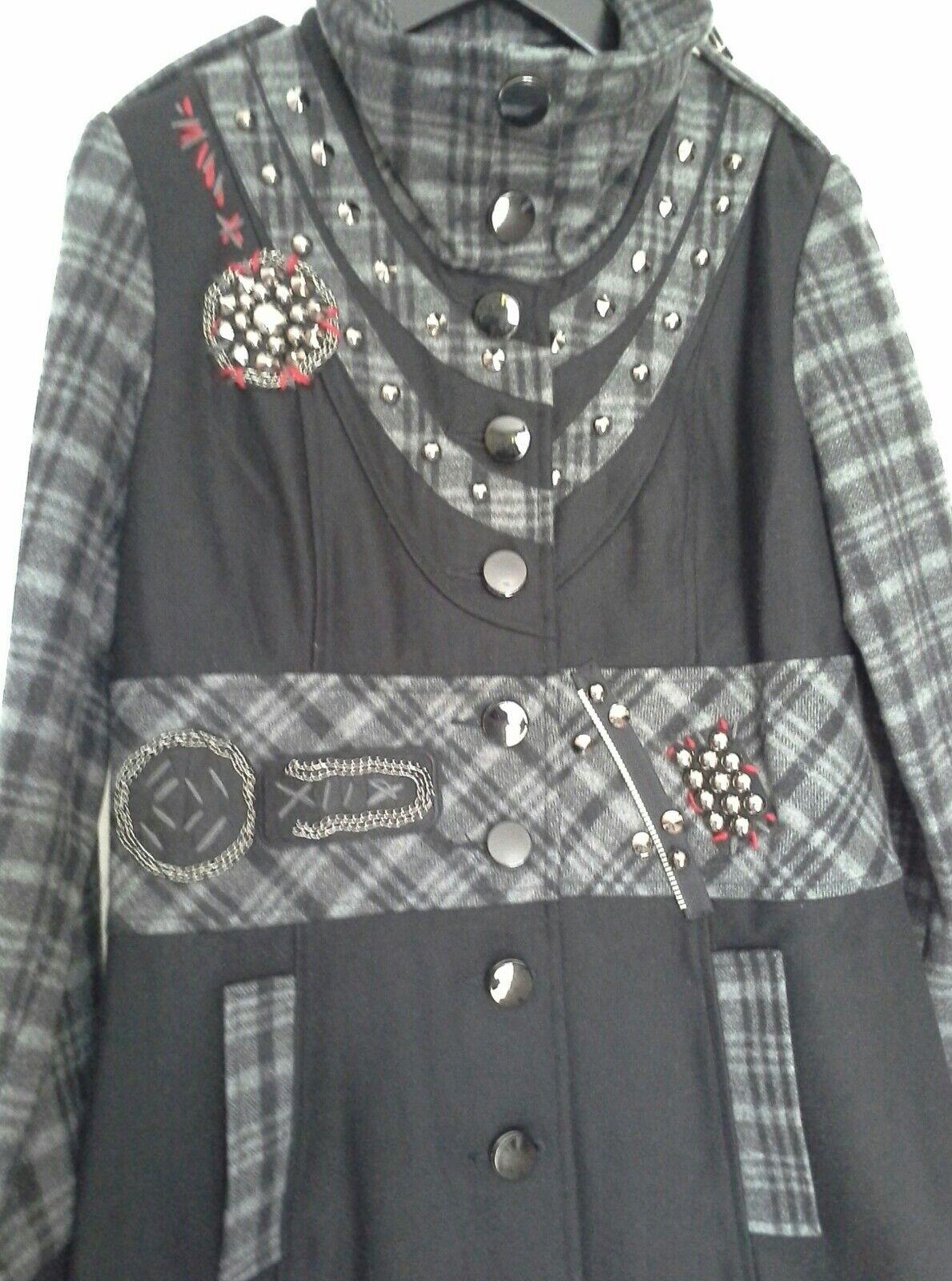 Kessley Embellished Coat Medium RARE RARE RARE 6aaf37