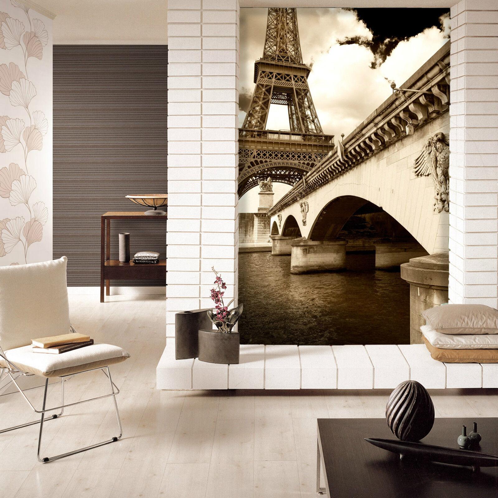 3D Ferro Torre 4 Parete Murale Foto Carta da parati immagine sfondo muro stampa