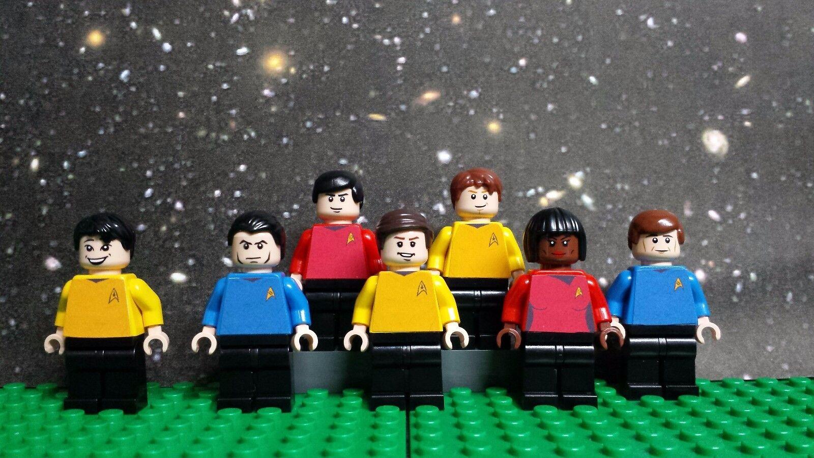 Lego stjärna TREK Original serier minifigurer.Läs alla detaljer 100% Genuine lego
