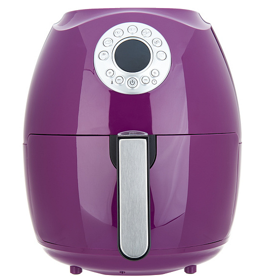 Cook's Essentials 3.4-qt 1500-Watts Digital Air électrique Friteuse-Aubergine