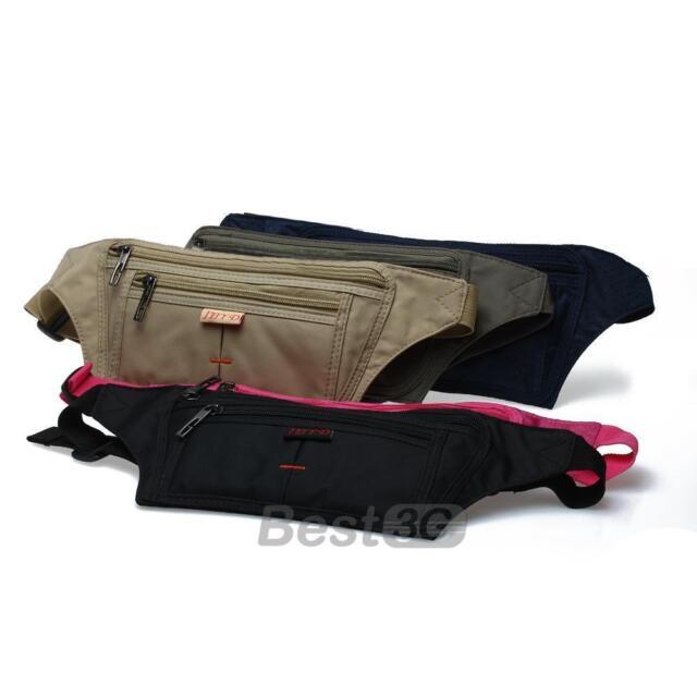 Men Women Waterproof Sport Waist Bum Bag Fanny Pack Purse Wallet Pouch