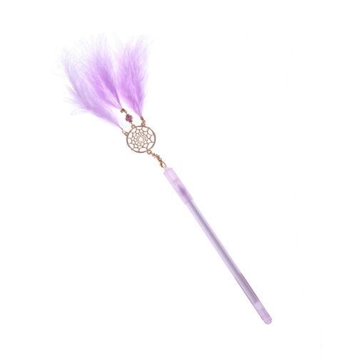 1Pc Gel Pen Kawaii Dreamcatcher Feather Pendant Neutral Pens for School GDA ML
