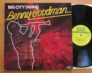 Benny-Goodman-Big-City-Swing-1978-NM-VG-Vinyl-LP-Decca-TAB-5