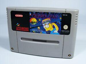 VIRTUAL-BART-fuer-Super-Nintendo-nur-SNES-Spiel-Modul-the-simpsons