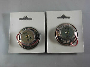 Kleinlautsprecher-0-25-W-50-Ohm-Durchm-50-x18-mm-Lautsprecher-mini-loudspeaker
