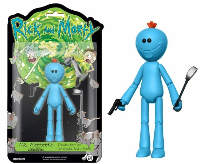 Meeseeks Fully Posable Action Figure Item #12927 Funko Rick and Morty Mr