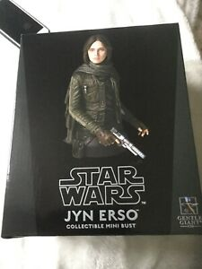 Rogue One A Star Wars Story Jyn Erso Mini Bust from Gentle Giant