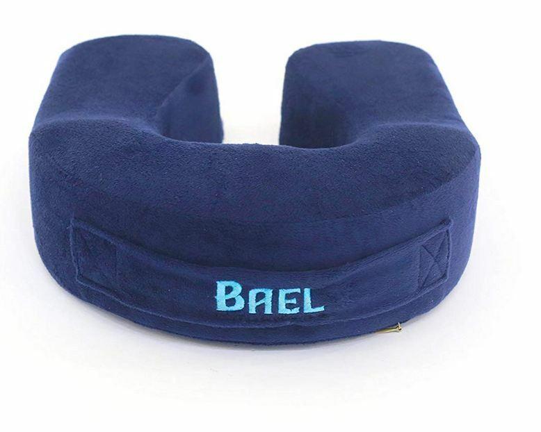 Bael Wellness Travel Neck Pillow Memory Foam Travel Pillow - Therapeut... - s l1600