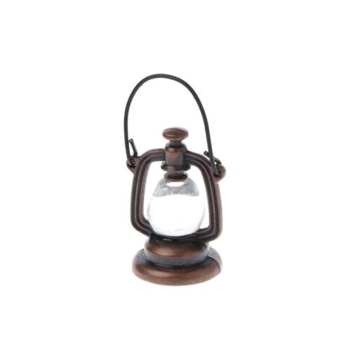 1:6 Scale Oil Lamp Dollhouse Miniature Toy Doll Kitchen Living Room Accessories