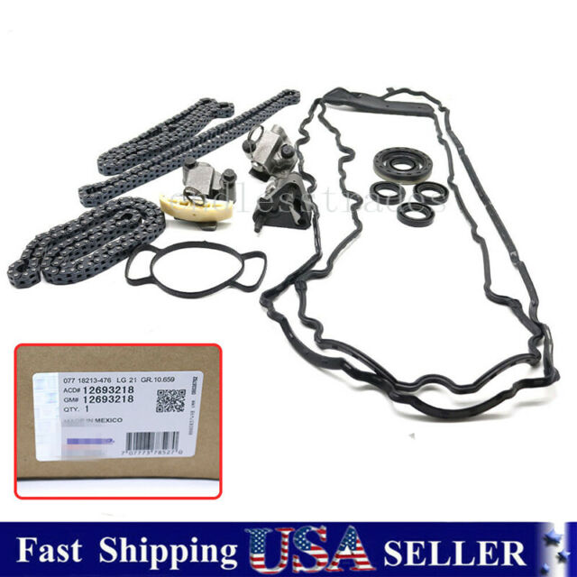 Engine Timing Chain Kit For GM ACDelco Camaro Impala