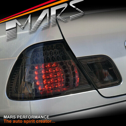 Smoked M3 Led Tail Lights For Bmw E46 Convertible Cabrio 325ci 330ci For Sale Online Ebay
