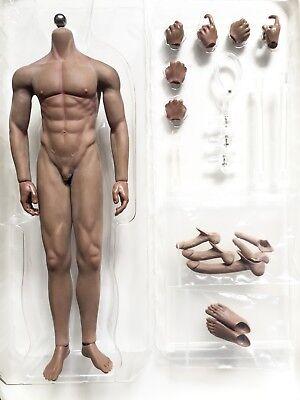 Seamless Male Body Sculpture Super Flexible Body Steel DetacYJble Skeleton FR