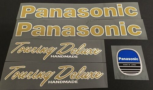 Panasonic Touring Deluxe Decal Set (sku 1401)