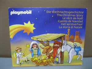 The Christmas Story Book.Details About A Playmobil Nativity The Christmas Story Book From Set 3996 And 5719