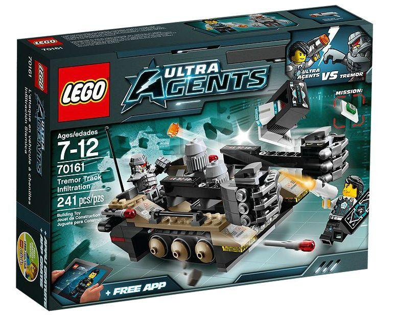 LEGO ® ULTRA AGENTS 70161 tremore Track infiltrazione NUOVO OVP NEW MISB NRFB