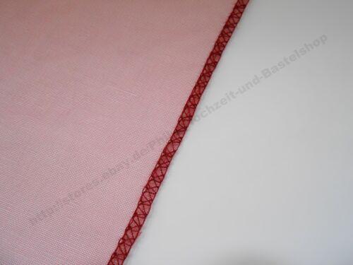 9m x 38cm Organza Stoff Rolle Webkante Tischläufer Dekostoff EUR 0,42 // m
