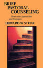 Brief Pastoral Counseling: Short Term Approaches and Strategies by Howard W. Stone (Paperback, 1959)