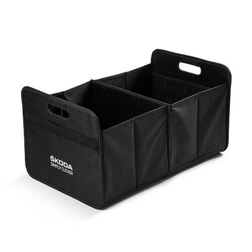 Original skoda Outdoor negro box para maletero Manco mvf04-228