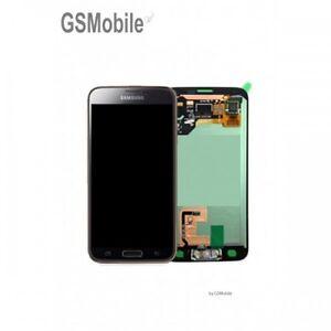 Display-Pantalla-LCD-Tactil-Con-Adhesivo-Samsung-Galaxy-S5-G900F-Gold-Original