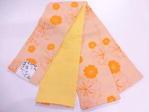 HIGH CLASS ANTIQUE HANHABA OBI FOR JAPANESE KIMONO, BEAUTIFUL CRAFT MATERIAL,