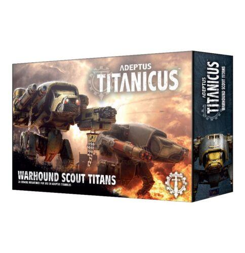 Adeptus Titanicus Warhound Scout Titans Games Workshop 400-00 #00000