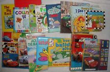 Lot of 15 Children Board Picture Story Books Disney Cars McQueen Barney Mickey