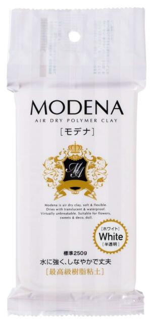 PADICO Resin clay Modena 250g White 303109 made in Japan p// new