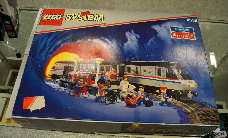 Lego System 4558 Metroliner inkl OVP WOW ES 698 I2