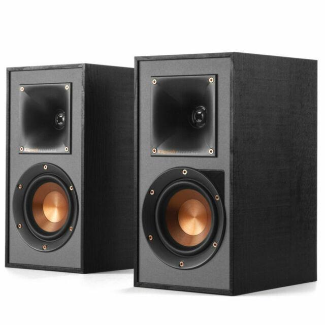 1 Klipsch Kg1 Oiled Walnut 2 Way Large Bookshelf Stereo Speakers