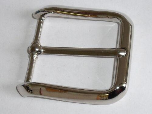 Gürtelschnalle Schließe Schnalle Verschluss  3,9 cm silber NEU rostfrei 0153.1