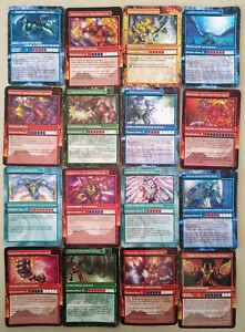 Lot de 16 cartes Gormiti