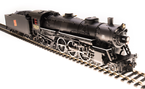 Broadway Limited HO 5607 Light Pacific 4-6-2, GTW Paragon3 Sound DC DCC,