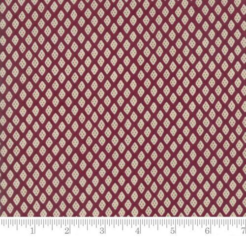 Per 1//4 Metre Moda Fabric Pondicherry Calico Magenta