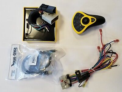 **new** sno way wireless pro control ii kit 99101214 w 96112955 pump harness ebay western snow plow controller wiring diagram sno way wiring harness wiring diagram