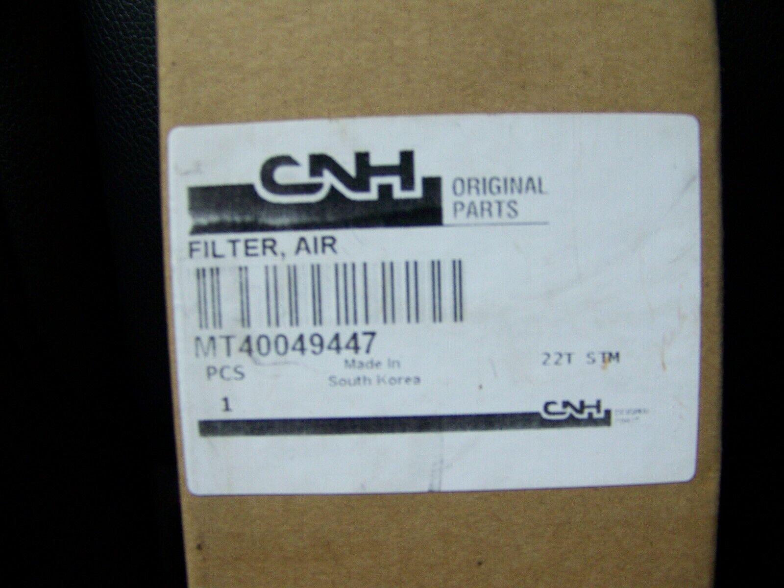 CNH NEW HOLLAND INNER AIR FILTER   MT40049447