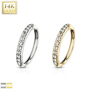 14K-GOLD-Hoop-NOSE-LIP-Earrings-EAR-Helix-Daith-Cartilage-Rook-Snug-Conch-Rings