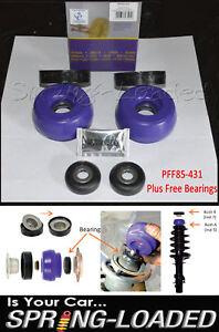Powerflex-Delantero-Puntal-Superior-Mounts-10mm-Rodamientos-Gratis-Para-VW-Golf-R32-Mk4-2001-04