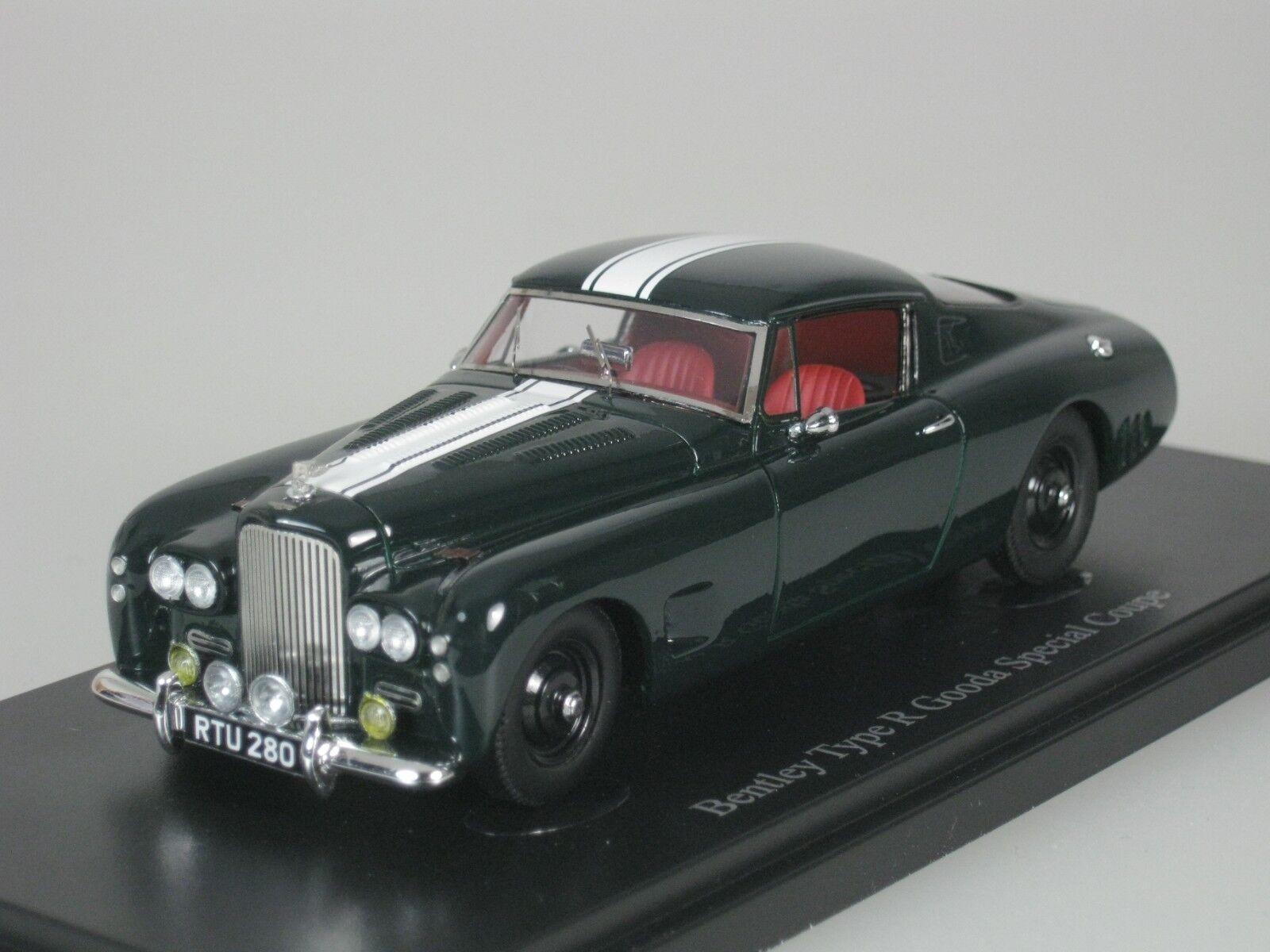 Bentley Type R Gooda Special Coupe 1954 verde biancao 1 43 Autocult 05024 Nuevo