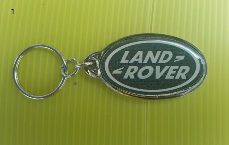 Land Rover key rings and cap badges