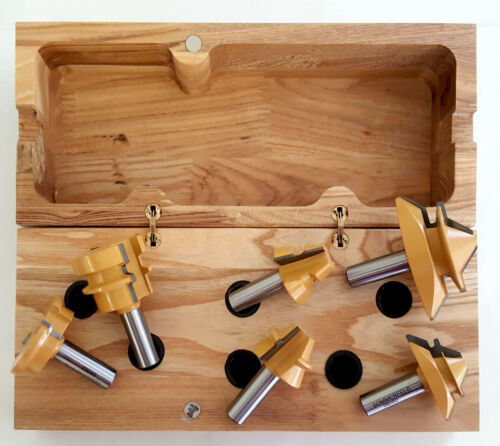 NEW Sommerfelds Tools for Wood 06002 6-Pc Jointmaking Bit Set Kit