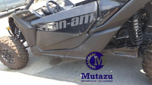 Complete Lower Door Panels Inserts Kit w// Tubing Frames for Can Am Maverick X3