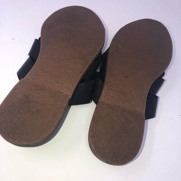 Madewell Boardwalk Woven Black Slide Women Shoe S… - image 4