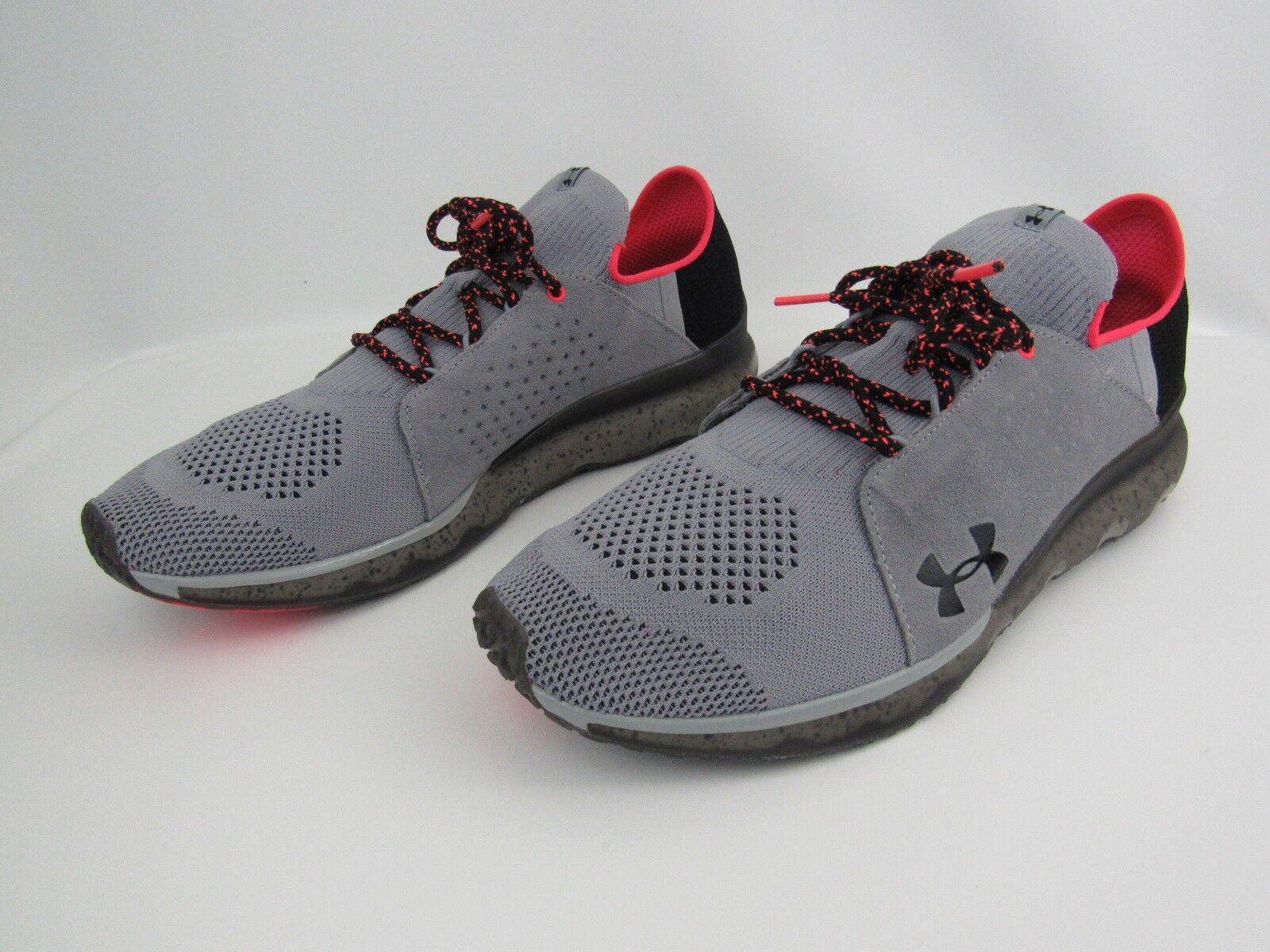 Under Under Under Armour Threadborne Reveal Running Chaussures Homme SZ 12 Gris 1302479-102 4ca17a